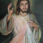 """Obraz olejny """"Jezu Ufam Tobie"""""""