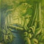 Malowanie murali to fantastyczny sposób na powiększenie pokoju , restauracji czy innego miejsca widocznego. Mural z dżunglą to wdzięczny temat na ścianę.