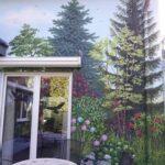 ogród na scianie