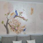 mural z Pawiem, Paw