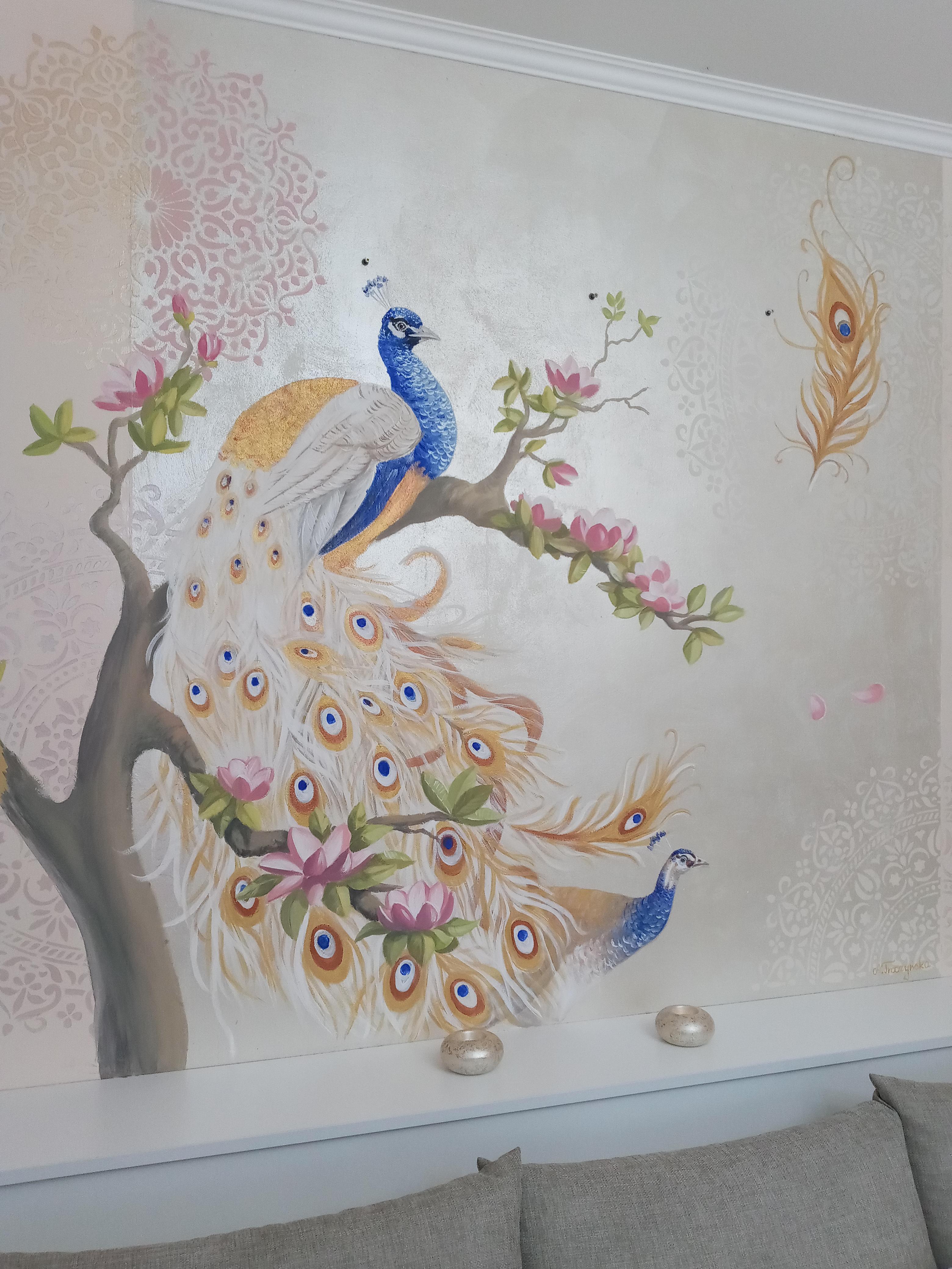 dekoracyjny mural